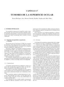 TUMORES DE LA SUPERFICIE OCULAR