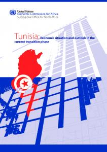 Tunisia: Economic situation and outlook in the