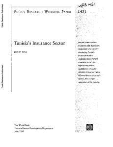 Tunisia's Insurance Sector