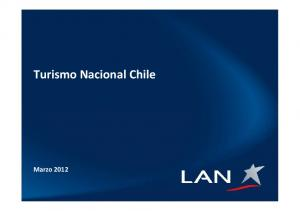 Turismo Nacional Chile. Marzo 2012