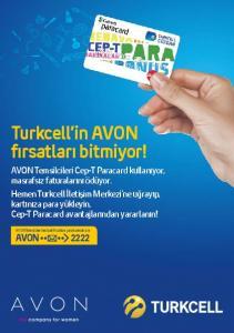 Turkcell in AVON fırsatları bitmiyor!