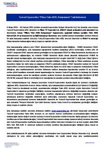 Turkcell Superonline Filbox Yalın ADSL Kampanyası Taahhütnamesi
