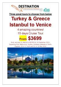Turkey & Greece Istanbul to Venice
