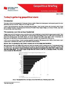 Turkey s gathering geopolitical storm