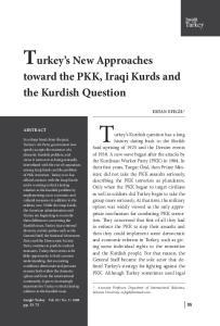 Turkey s Kurdish question has a long