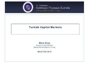 Turkish Capital Markets