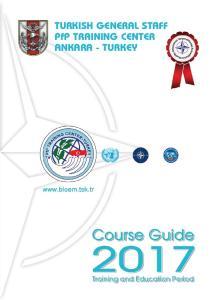 TURKISH GENERAL STAFF PfP TRAINING CENTER ANKARA - TURKEY