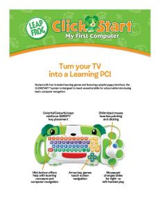 Turn your TV into a Learning PC!