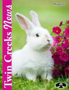 Twin Creeks News. March 2016