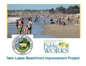 Twin Lakes Beachfront Improvement Project