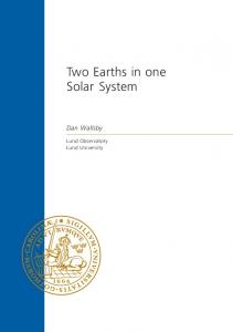 Two Earths in one Solar System