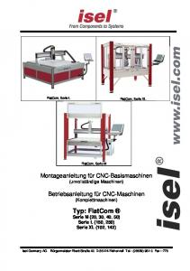Typ: FlatCom Serie M (20, 30, 40, 50) Serie L (150, 250) Serie XL (102, 142)