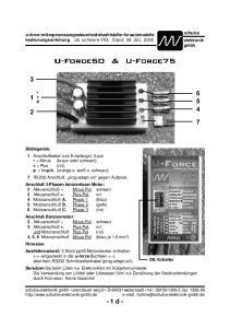 U-Force50 & U-Force75