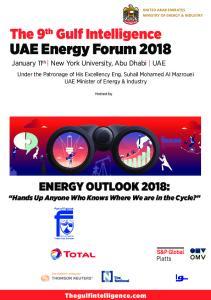 UAE Energy Forum 2018