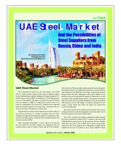 UAE Steel Market