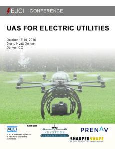 UAS FOR ELECTRIC UTILITIES