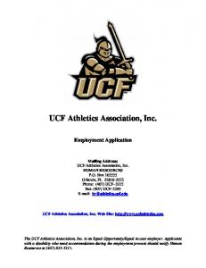 UCF Athletics Association, Inc