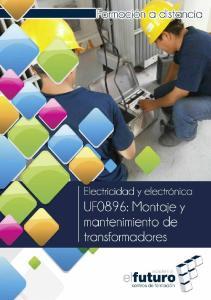 UF0896: Montaje y mantenimiento de transformadores