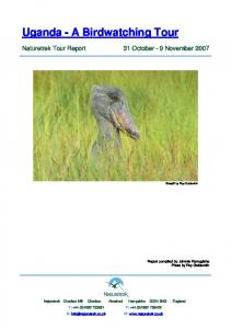 Uganda - A Birdwatching Tour