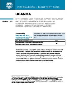 UGANDA. Approved By. November 3, 2015