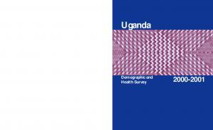 Uganda. Demographic and Health Survey