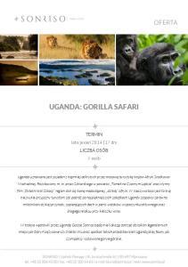 UGANDA: GORILLA SAFARI