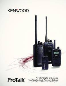 UHF Business Two-Way Radios