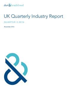 UK Quarterly Industry Report
