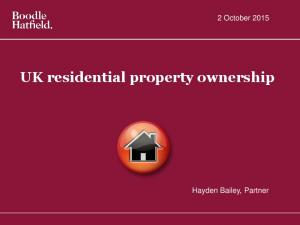 UK residential property ownership