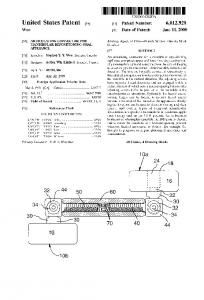 Ulllted States Patent [19] [11] Patent Number: 6,012,920. W00 [45] Date of Patent: Jan. 11, 2000