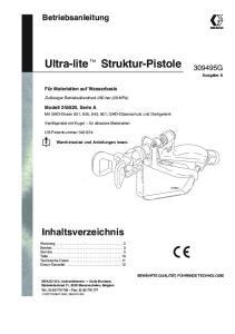 Ultra-lite Struktur-Pistole