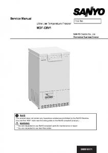 Ultra-Low Temperature Freezer