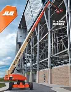 Ultra Series Boom Lifts