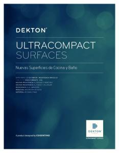 ULTRACOMPACT SURFACES