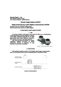 Ultrasonic Ranging Module on STM32F4