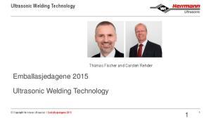 Ultrasonic Welding Technology