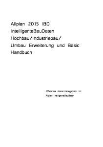 Umbau Erweiterung und Basic Handbuch
