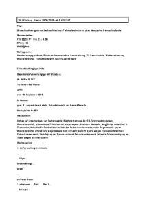 Umschreibung einer tschechischen Fahrerlaubnis in eine deutsche Fahrerlaubnis