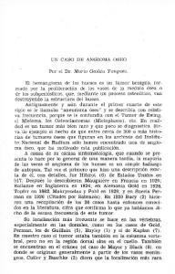 UN CASO DE ANGIOMA OSEO