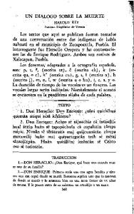 UN DIALOGO 'SOBR.E. LA MUERTE