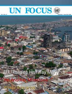 UN FOCUS Vol. 6, No. 01 September - November 2009