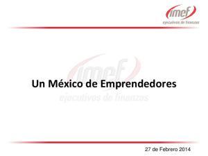Un México de Emprendedores