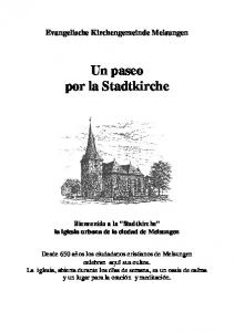 Un paseo por la Stadtkirche