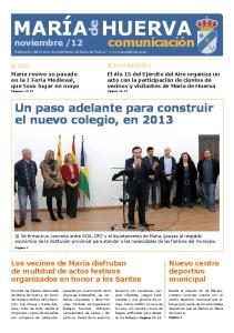 Un paso adelante para construir el nuevo colegio, en 2013