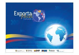 Un proyecto país para promover la cultura exportadora. Una oportunidad de desarrollo para las Mipymes