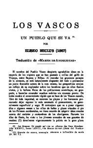 UN PUEBLO QUE SE VA (1). POR ELISEO RECLUS (1867)