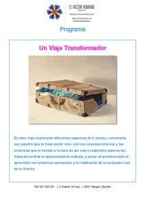 Un Viaje Transformador