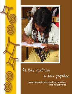 Una experiencia sobre lectura y escritura en la lengua yukpa
