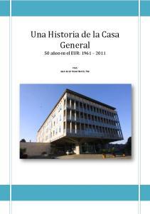 Una Historia de la Casa General