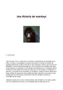 Una Historia de monkeys